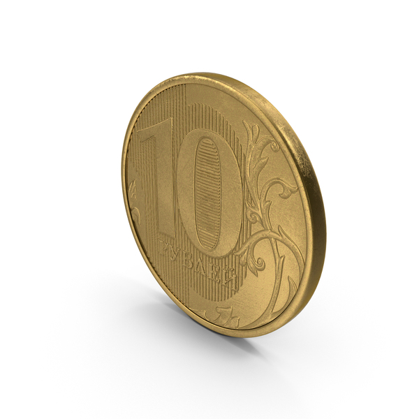 10 Ruble Coin PNG & PSD Images