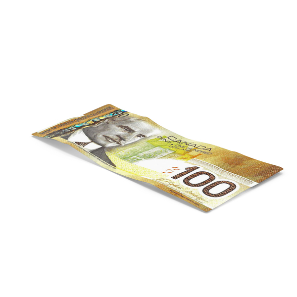 100 Canadian Dollar Note PNG & PSD Images