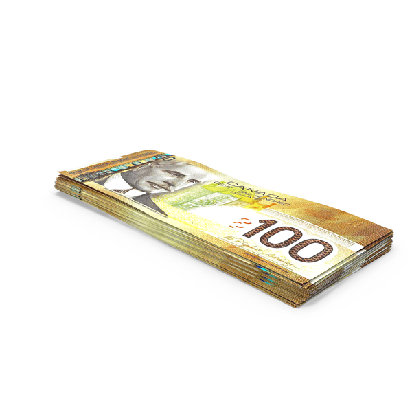 Banknote: 100 Canadian Dollar Note PNG & PSD Images