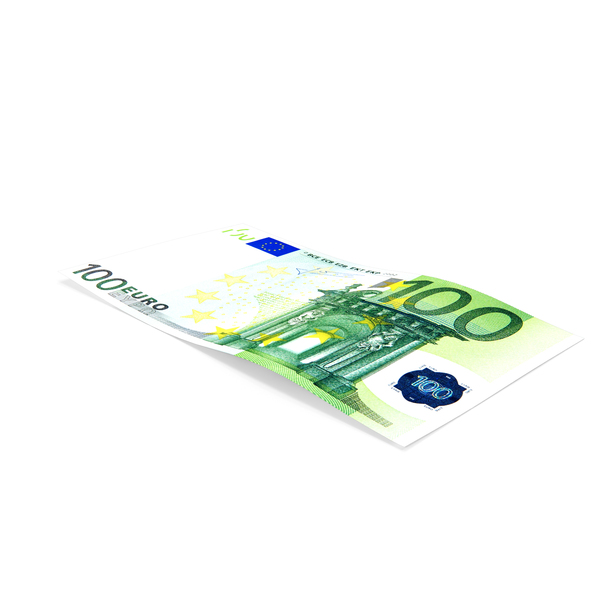 100 Euro Banknote PNG & PSD Images