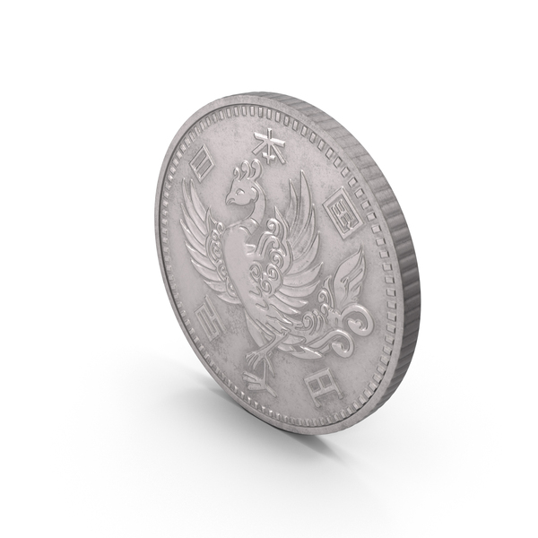 Coin: 100 Yen Japan PNG & PSD Images