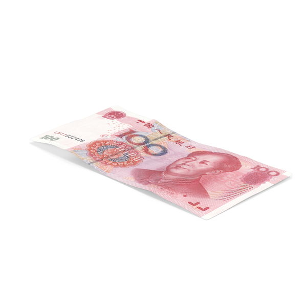 100 Yuan Note PNG & PSD Images