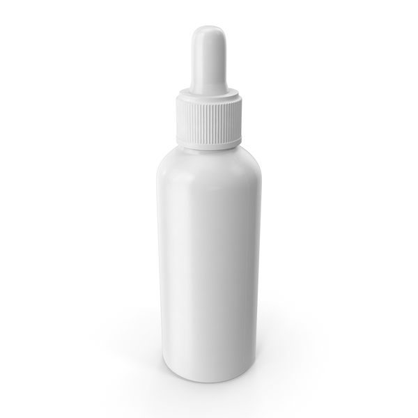 Eyedropper: 100ml Cosmetic Dropper Bottle PNG & PSD Images