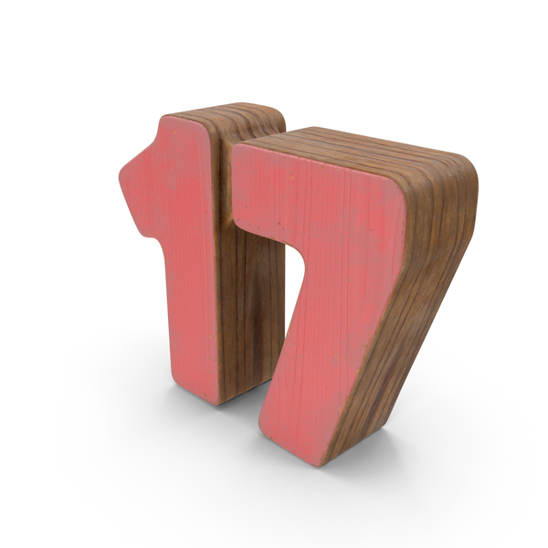 17 Wooden with Paint PNG & PSD Images