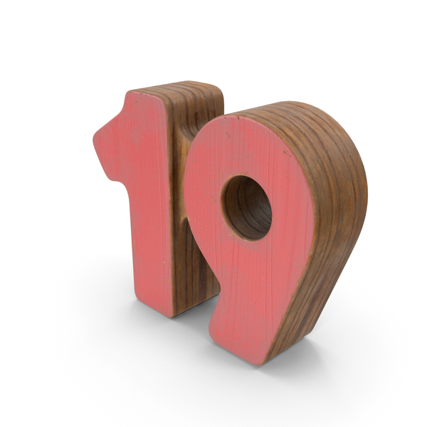 19 Wooden with Paint PNG & PSD Images