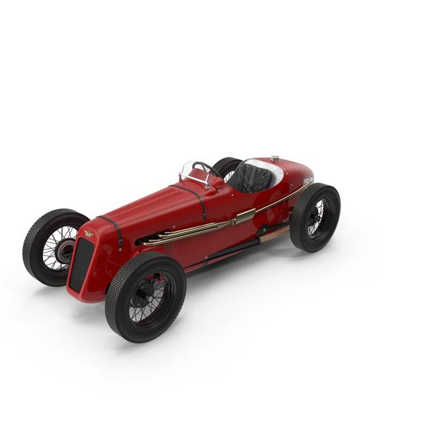 1930 Austin Seven Special Monoposto Vintage Retro Race car PNG & PSD Images