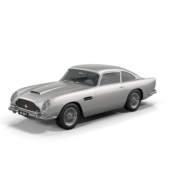 Sports Car: 1963 Aston Martin DB5 PNG & PSD Images