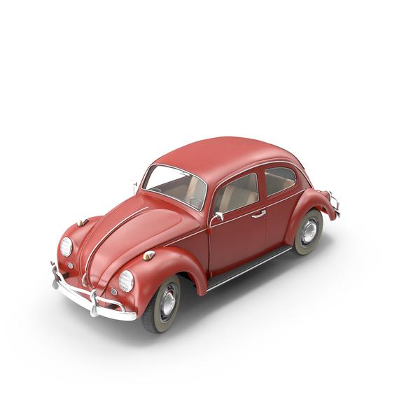 Antique Car: 1966 Volkswagen Beetle PNG & PSD Images