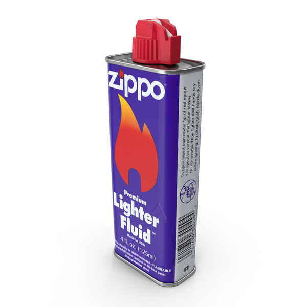 1996 Zippo Lighter Fluid 125ml PNG & PSD Images