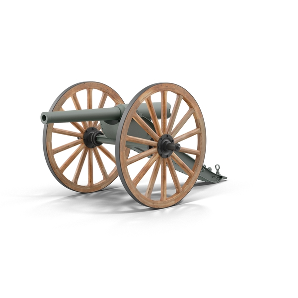 Field: 19th Century Cannon PNG & PSD Images