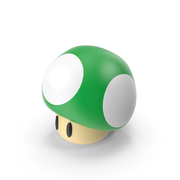 1Up Mushroom PNG & PSD Images