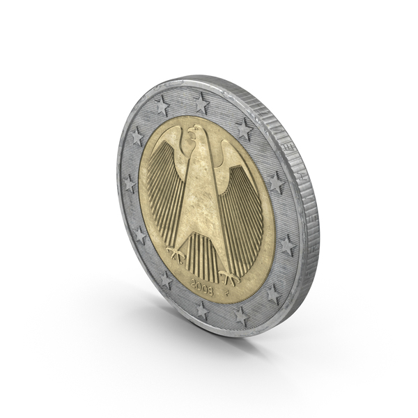 2 Euro Coin PNG & PSD Images