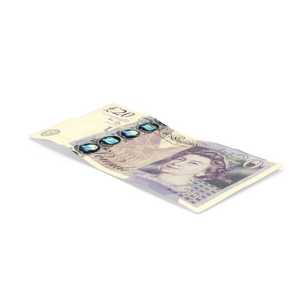 20 Pound Note Object