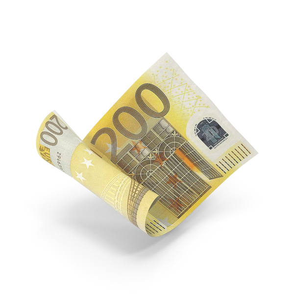 200 Euro Banknote Bill PNG & PSD Images
