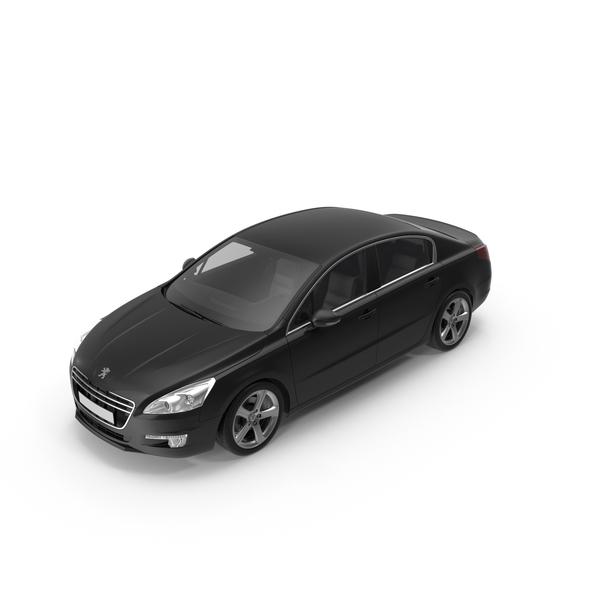 Sedan: 2013 Peugeot 508 PNG & PSD Images
