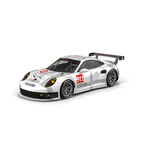 Race Car: 2014 Porsche RSR PNG & PSD Images