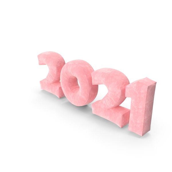 Number: 2021 Pink PNG & PSD Images