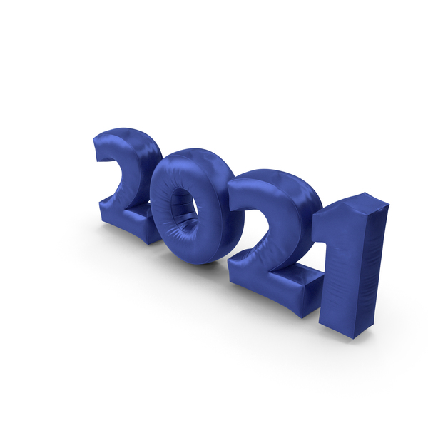 Number: 2021 Silk PNG & PSD Images