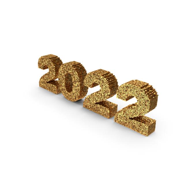 2022 Voxels PNG & PSD Images