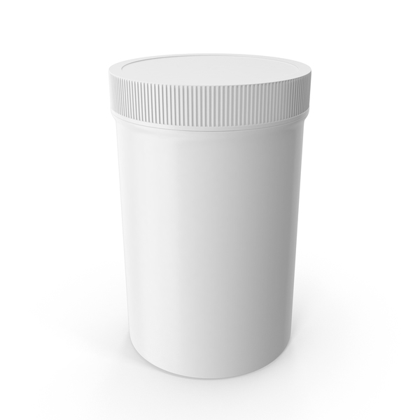 25oz Plastic Wide Mouth Jar PNG & PSD Images