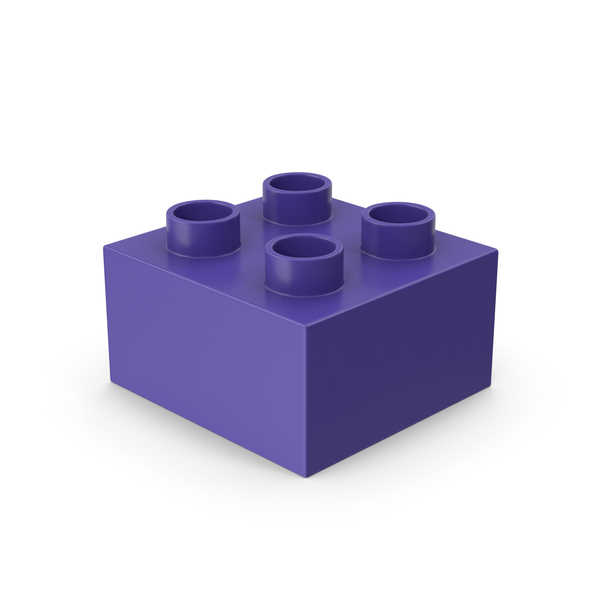 Lego: 2x2 Toy Brick PNG & PSD Images