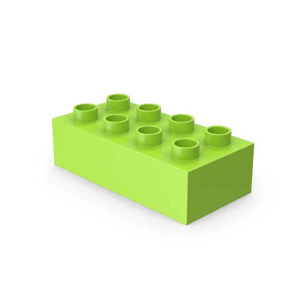 Building Block: 2x4 Toy Brick PNG & PSD Images