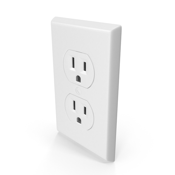 Electrical: 3 Prong Outlet PNG & PSD Images