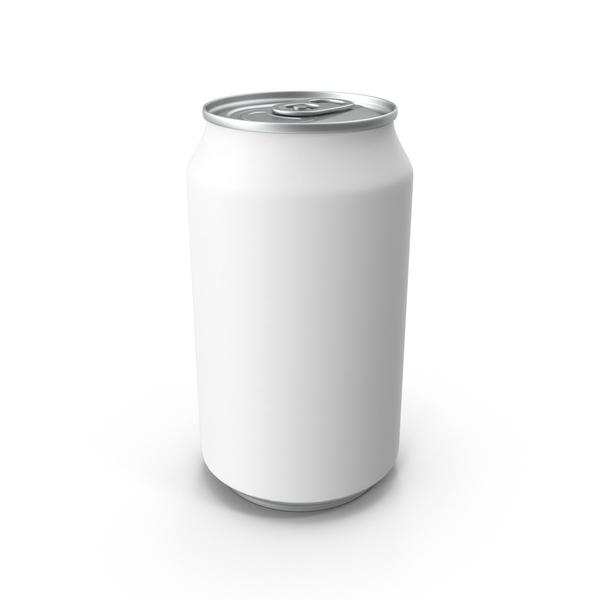 330ml Soda Can Mockup Object