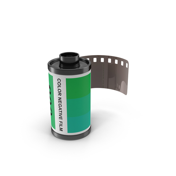 35mm Film Roll Object