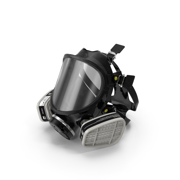 3M 7000 Series Silicone Respirator PNG & PSD Images
