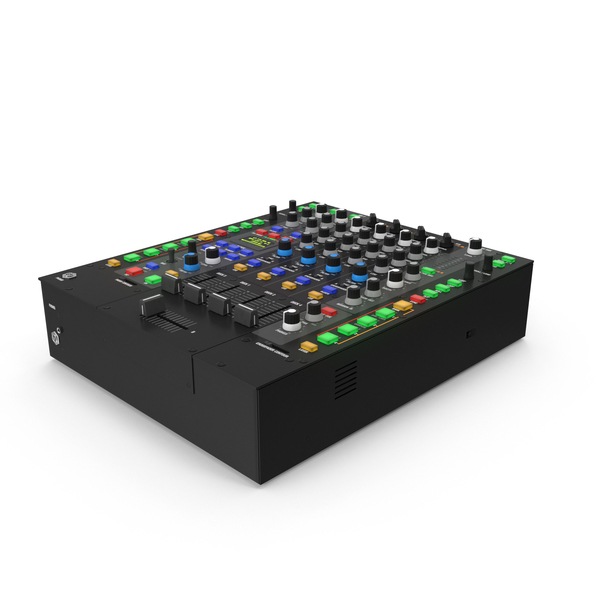 4 Channel Audio Mixer PNG & PSD Images