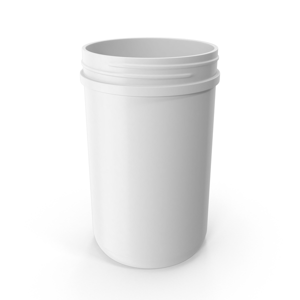 40oz Plastic Wide Mouth Jar PNG & PSD Images
