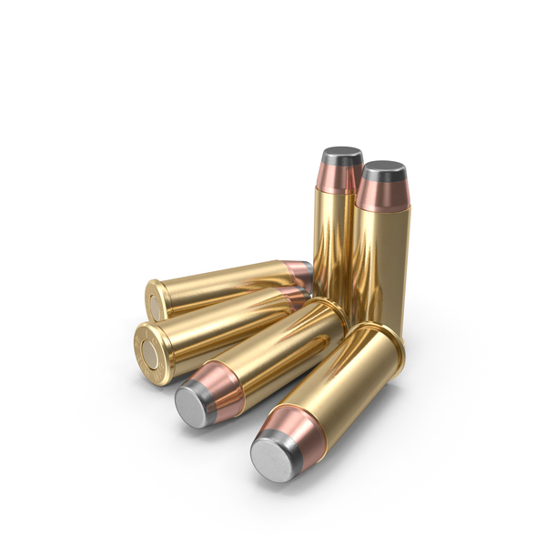 Cartridge: .44 Magnum Cartridges PNG & PSD Images