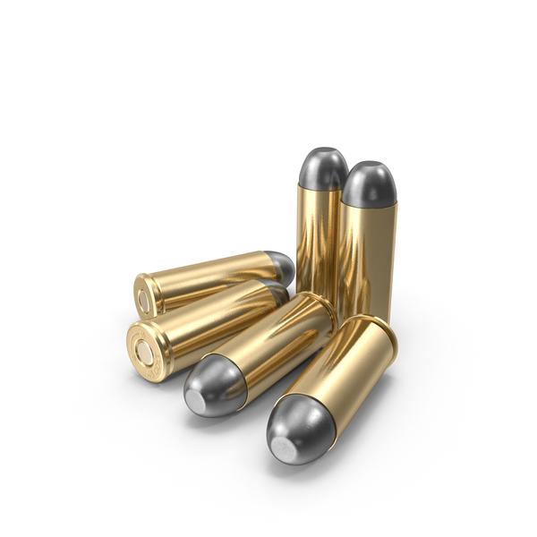 Cartridge: .45 Colt Cartridges PNG & PSD Images