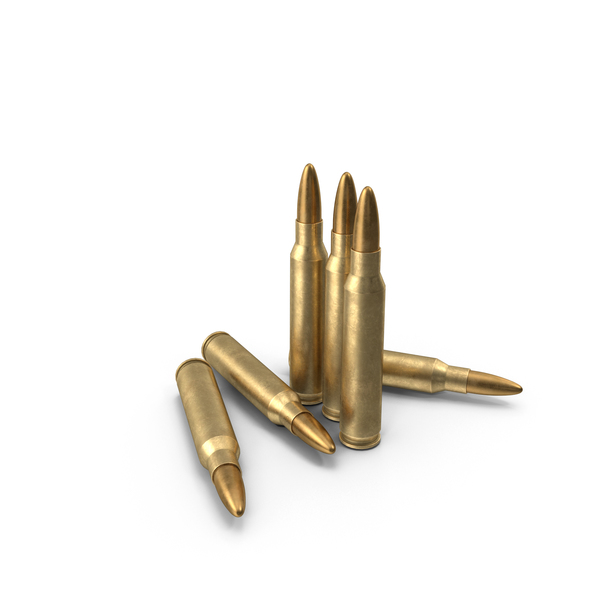 5.56х45 NATO Cartridge PNG & PSD Images