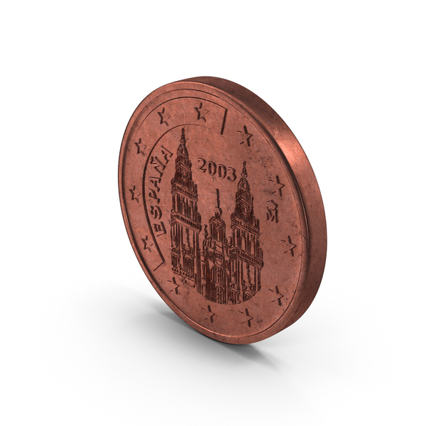 5 Cent Euro Coin Object