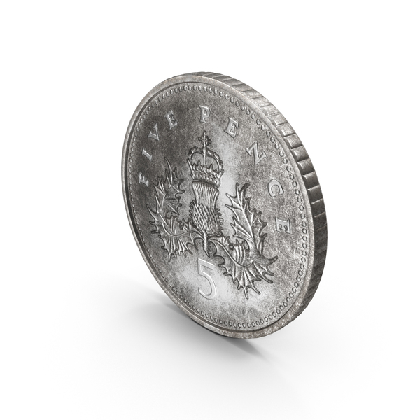 5p: 5 Pence Coin PNG & PSD Images