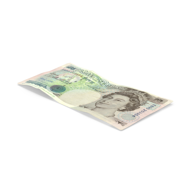 English Banknote: 5 Pound Note Object