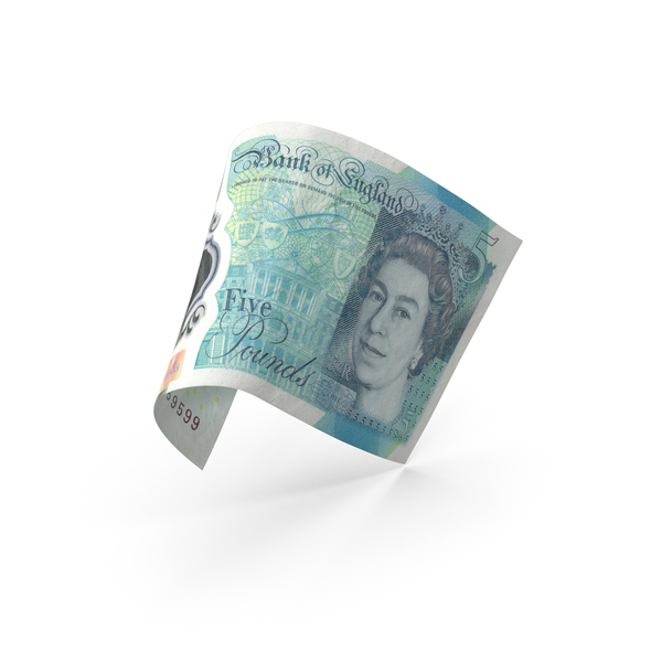 5 Uk Pound Sterling Banknote Bill PNG & PSD Images