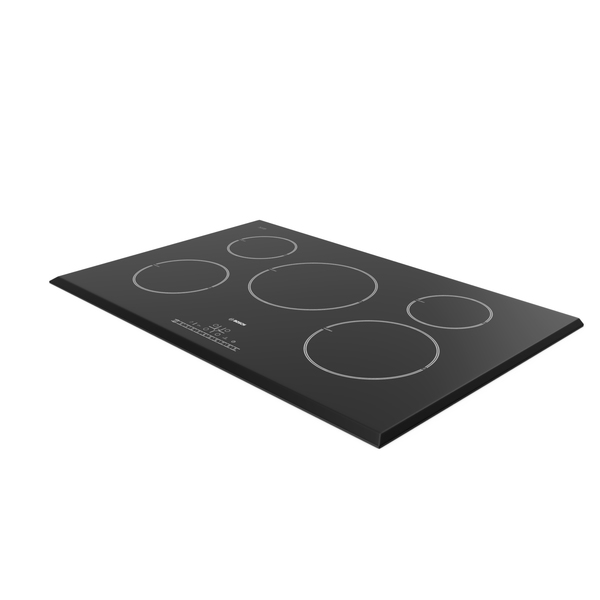 Cooktop: 5 Zone Induction Hob Bosch PNG & PSD Images
