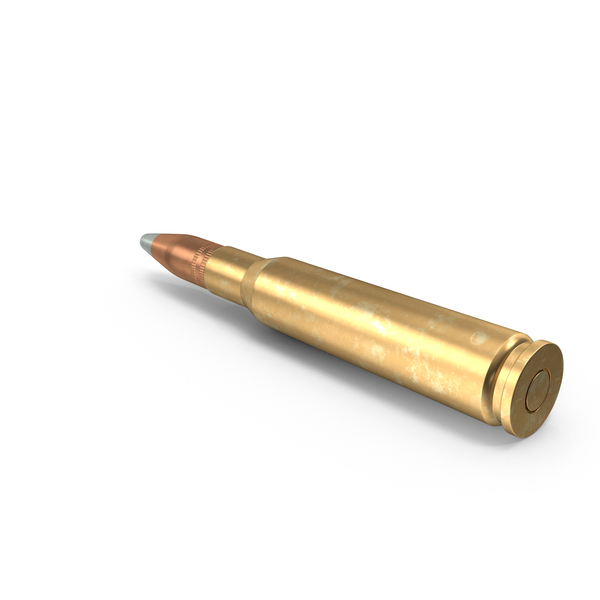Cartridge: 50 Caliber Bullet PNG & PSD Images