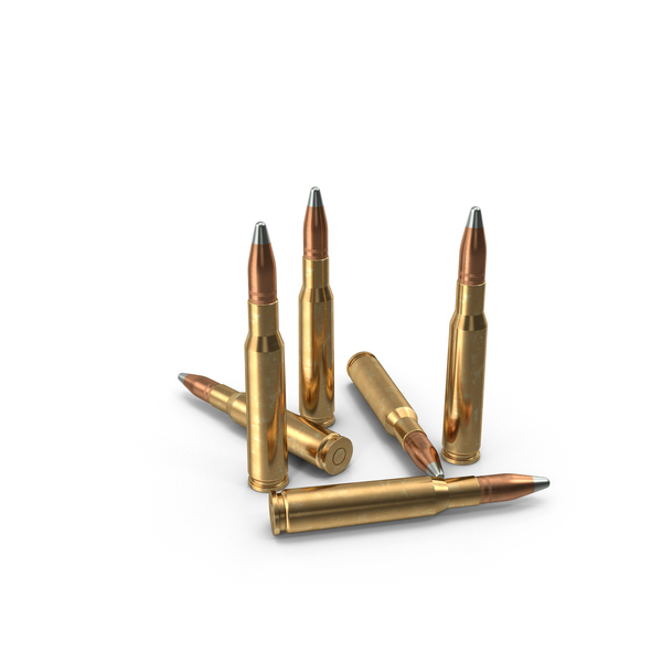 50 Caliber Bullets PNG & PSD Images