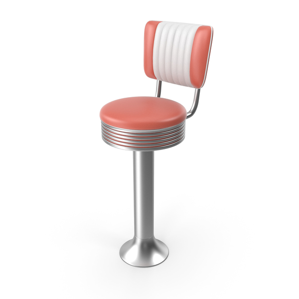 50's Style Bar Chairs PNG & PSD Images