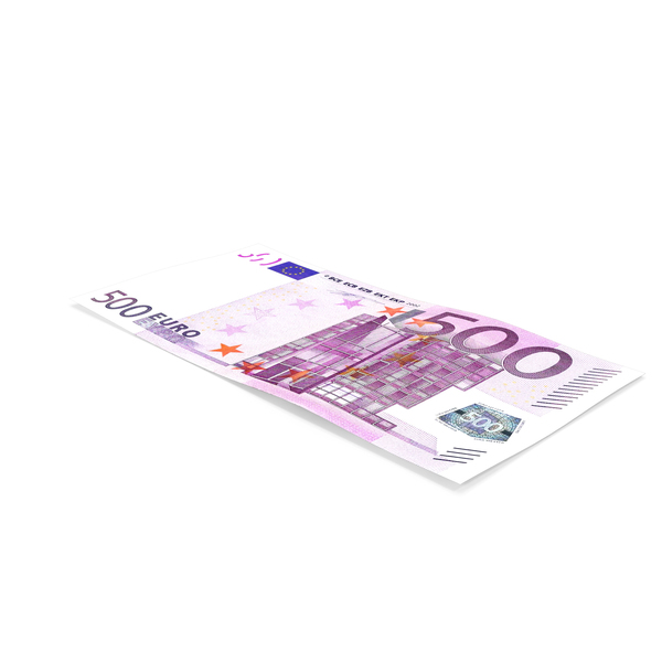 500 Euro Banknote PNG & PSD Images