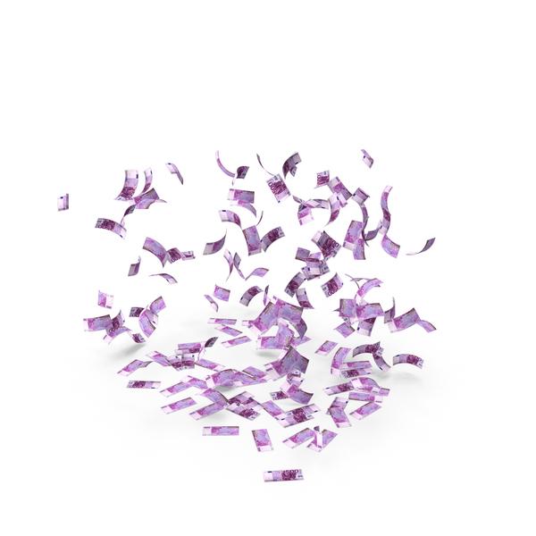 Euro Banknote: 500 Euros Bill Notes Falling PNG & PSD Images