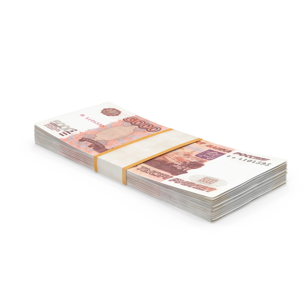 5000 Ruble Note PNG & PSD Images
