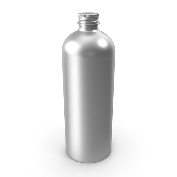500ml Aluminum  Bottle PNG & PSD Images