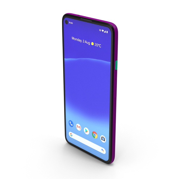 5G Mobile Phone Deeply Purple PNG & PSD Images