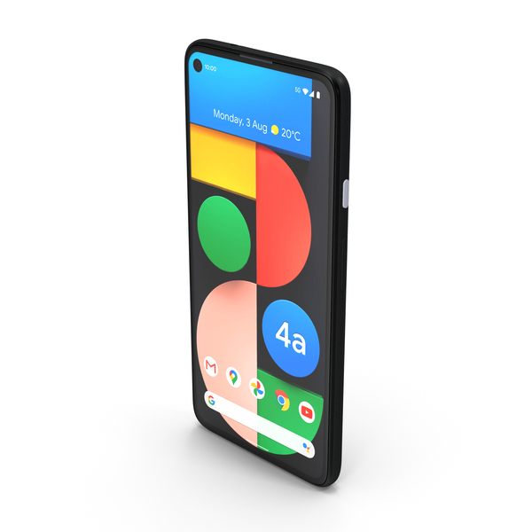 5G Mobile Phone Google Pixel 4a PNG & PSD Images