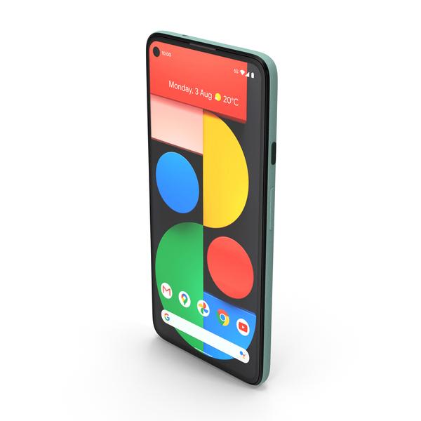 5G Mobile Phone Sorta Sage PNG & PSD Images